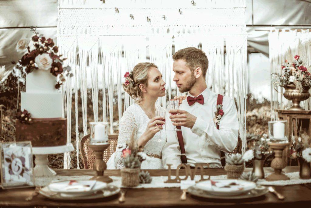 Boho Wedding Hochzeitsdeko