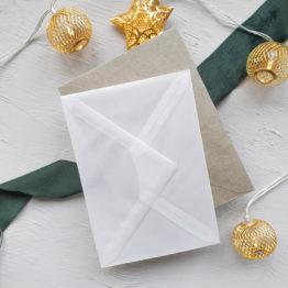 Umschlag-Transparent